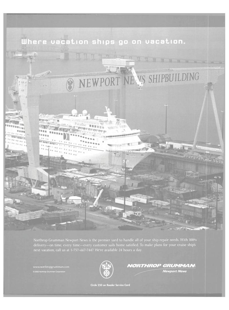 Maritime Reporter Magazine, page 5,  Mar 2003 Northrop Grumman Corporation