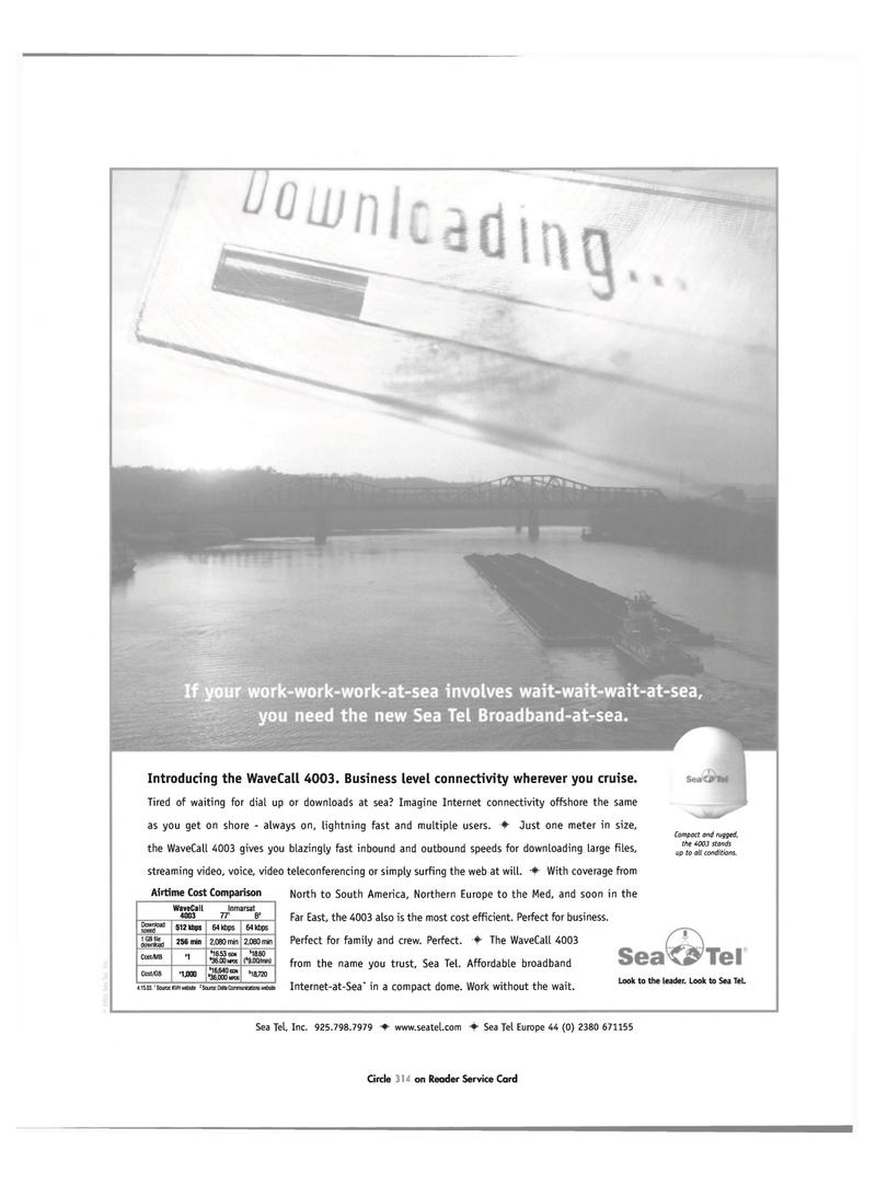 Maritime Reporter Magazine, page 23,  Jun 2003 ISDN