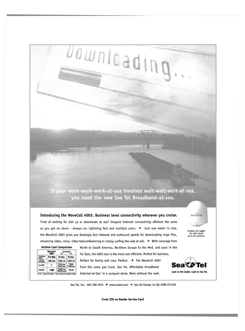 Maritime Reporter Magazine, page 1,  Jul 2003