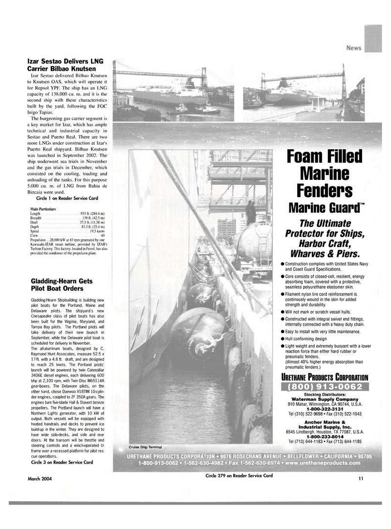 Maritime Reporter Magazine, page 11,  Mar 2004 Maine
