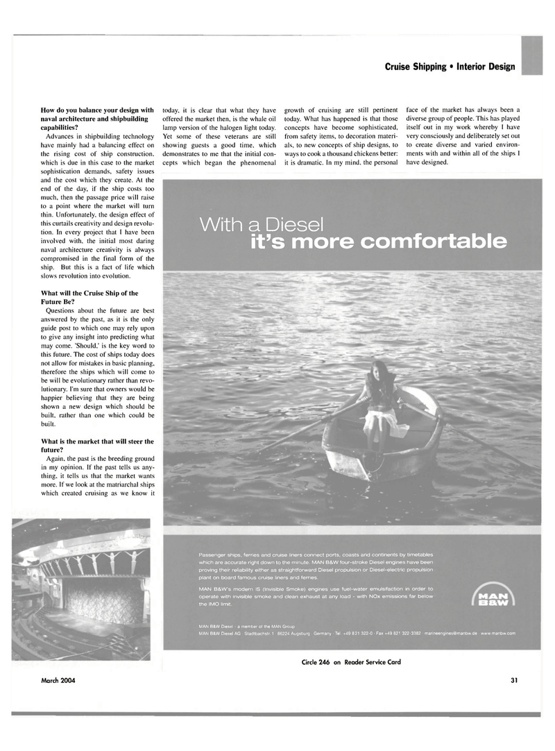 Maritime Reporter Magazine, page 31,  Mar 2004 whale oil lamp version