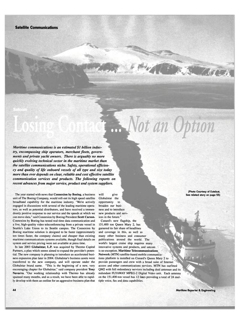Maritime Reporter Magazine, page 44,  Mar 2004 MPEG-2