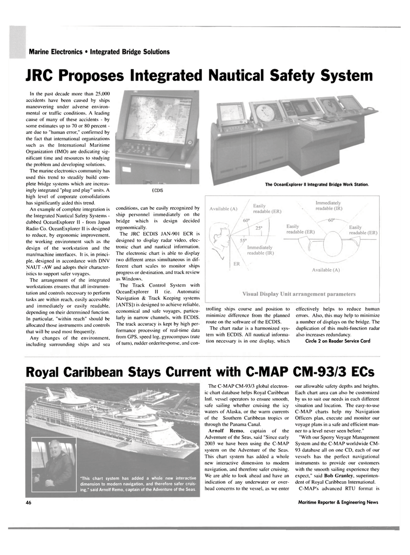Maritime Reporter Magazine, page 50,  May 2004