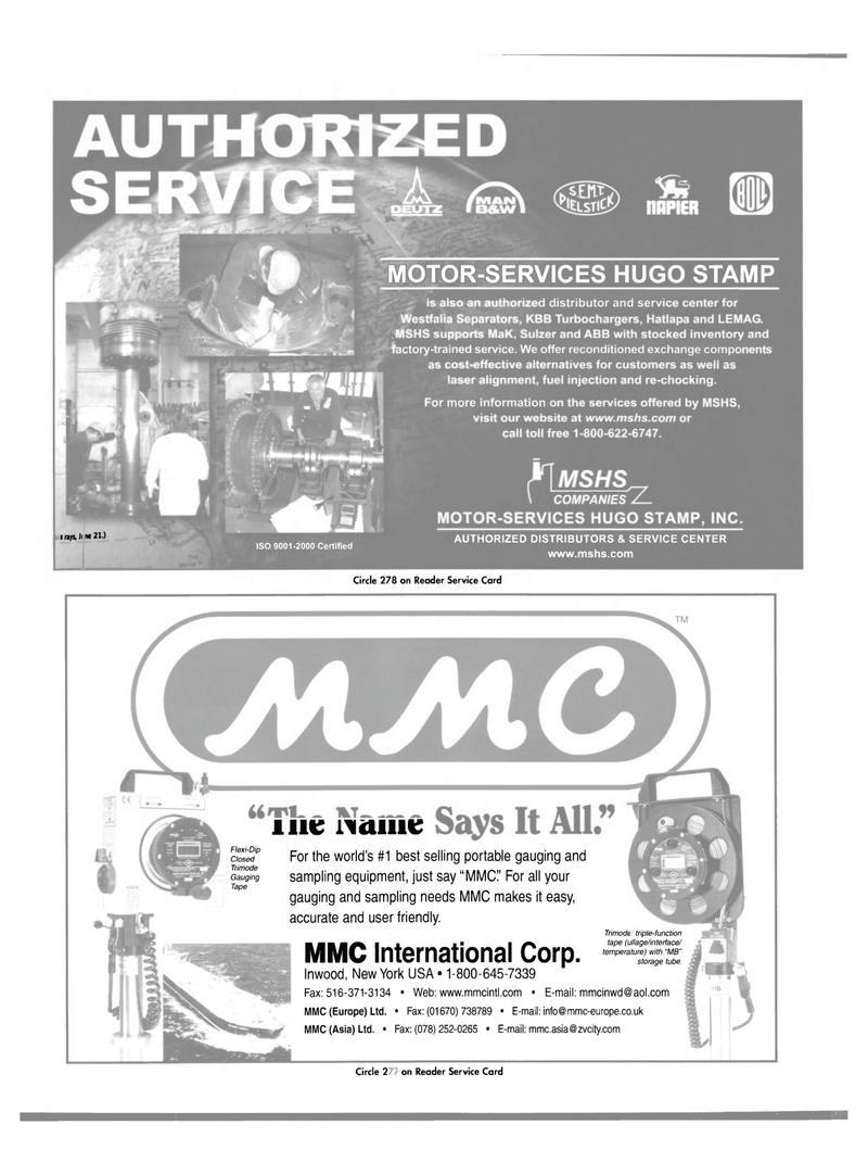 Page 16 Of Maritime Reporter Magazine June 2004