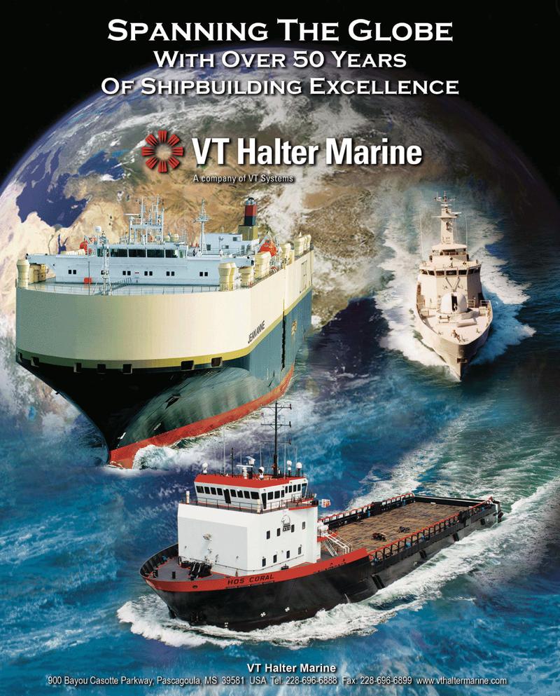 Maritime Reporter Magazine, page 17,  Jun 2, 2010