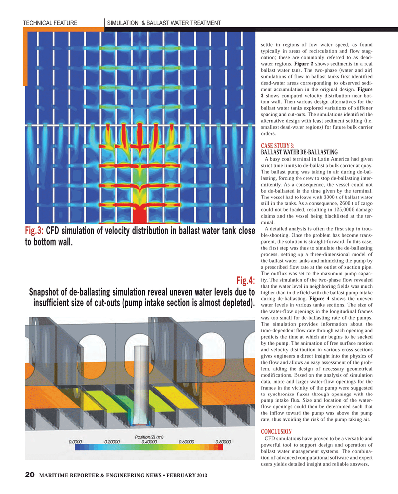 Maritime Reporter Magazine, page 20,  Feb 2013
