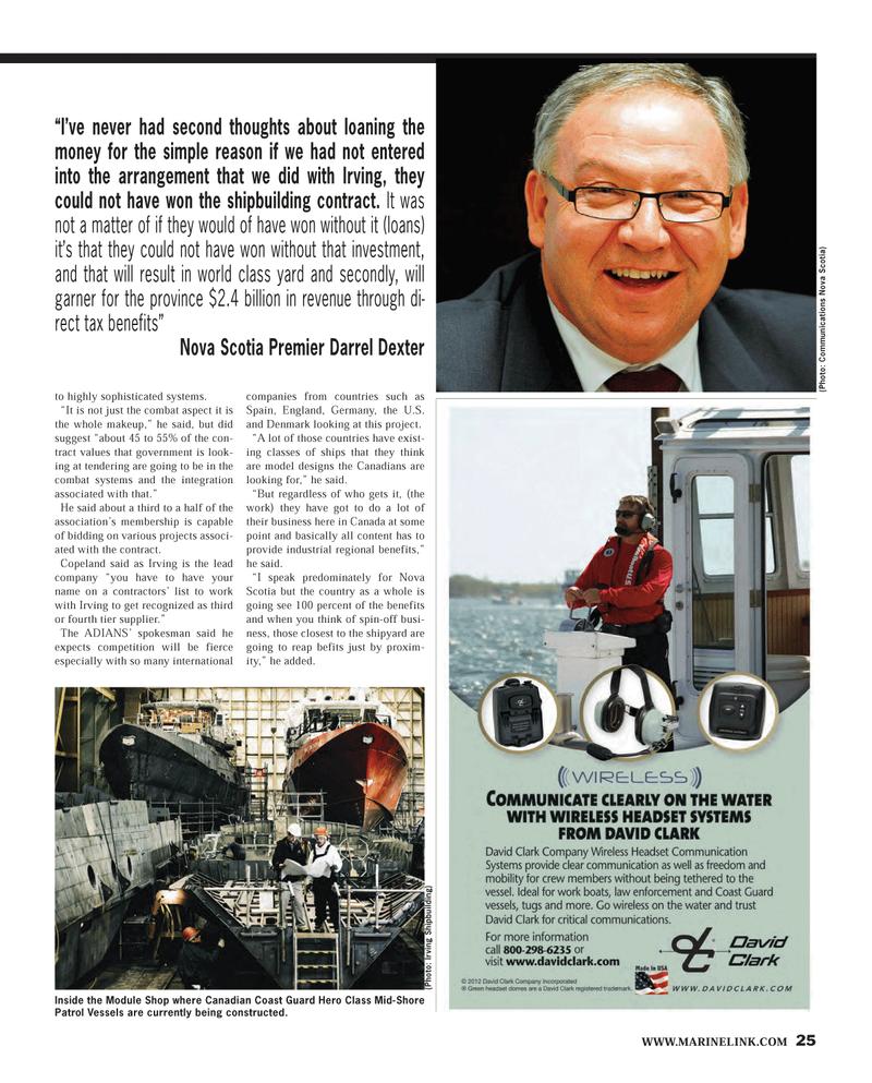 Maritime Reporter Magazine, page 25,  Feb 2013