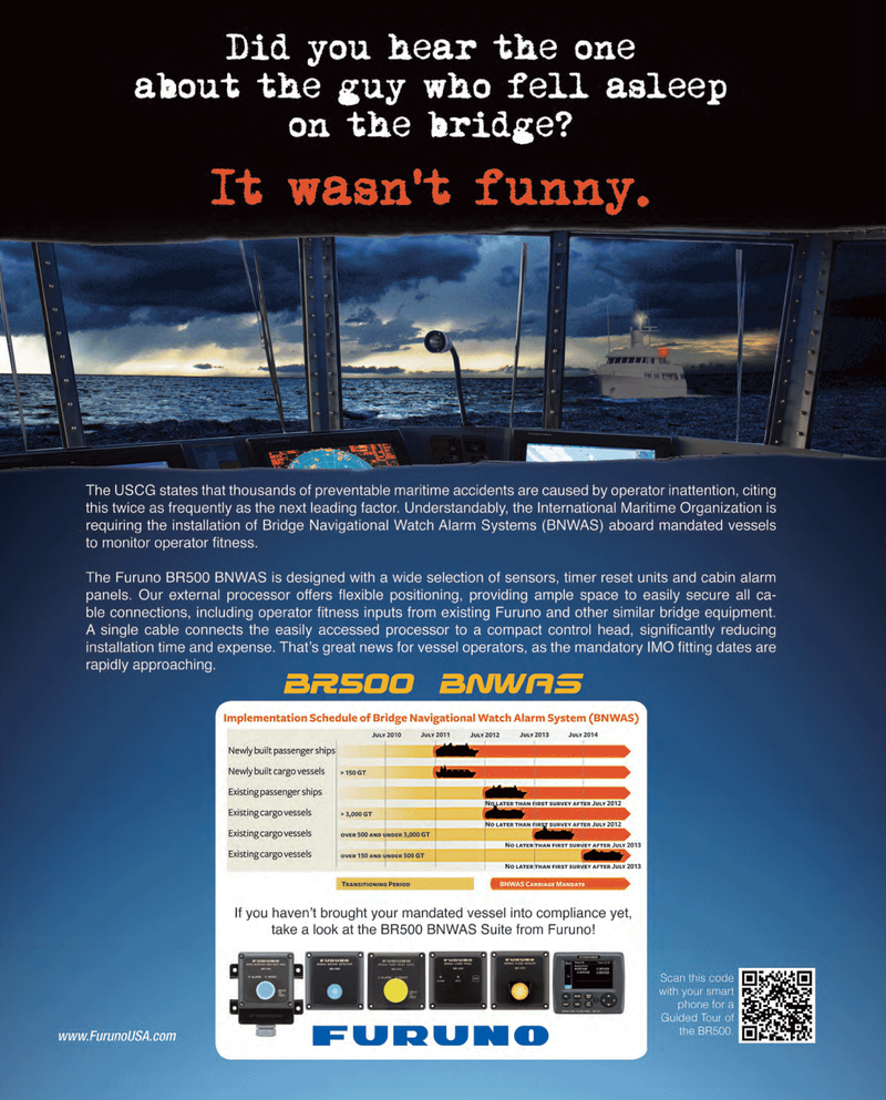 Maritime Reporter Magazine, page 3,  Feb 2013