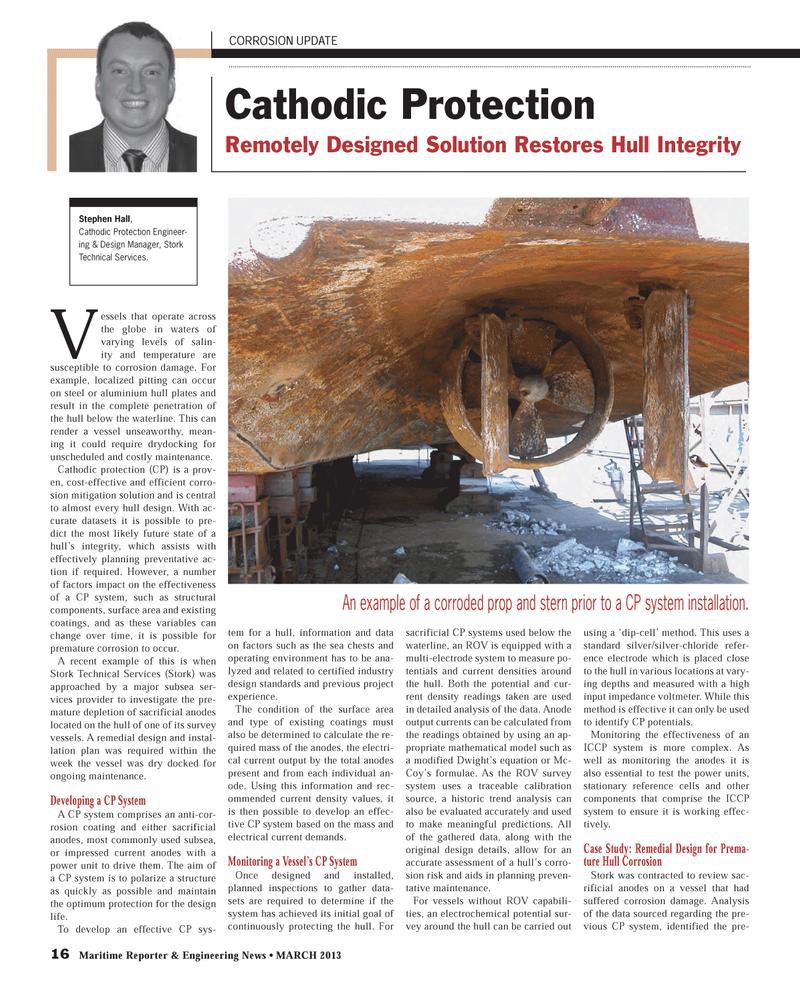 Maritime Reporter Magazine, page 16,  Mar 2013 steel