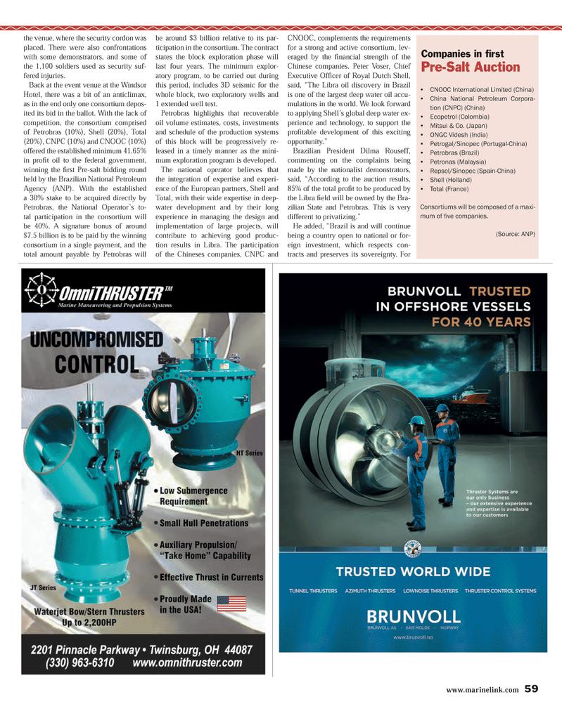 Maritime Reporter Magazine, page 59,  Nov 2013 federal government