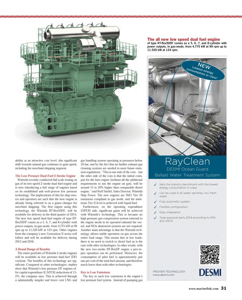Maritime Reporter Magazine, page 31,  Dec 2013