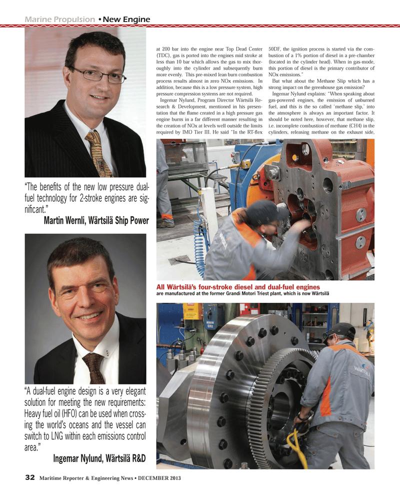 Maritime Reporter Magazine, page 32,  Dec 2013