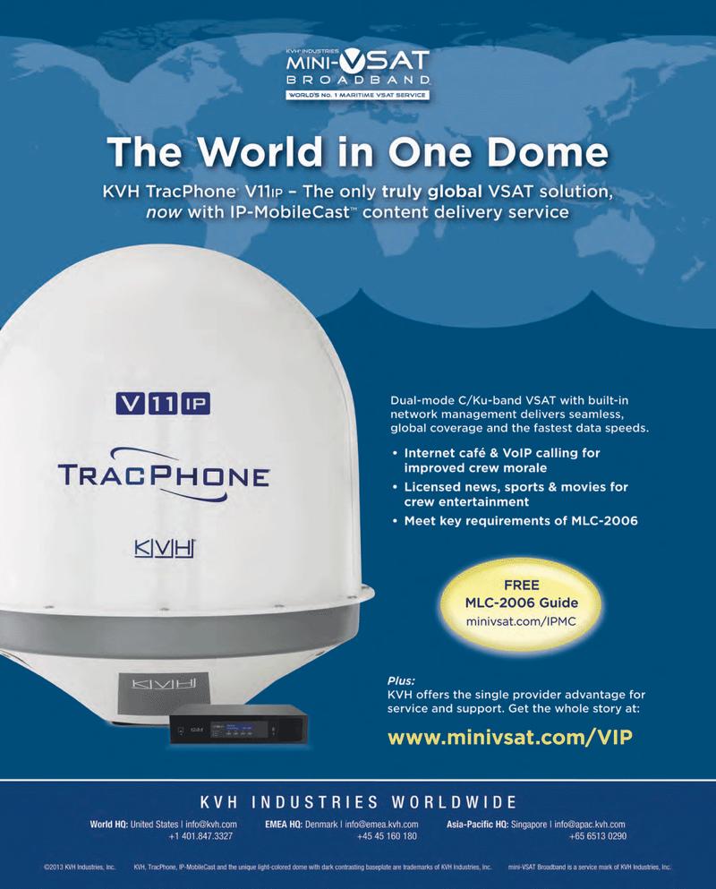 Maritime Reporter Magazine, page 3,  Dec 2013
