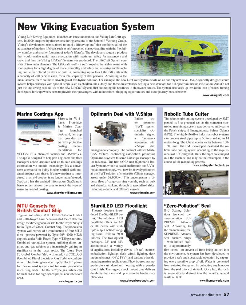 Maritime Reporter Magazine, page 57,  Dec 2013