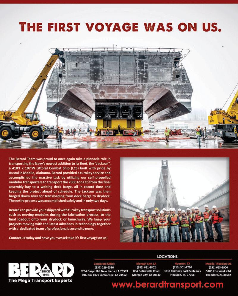 Maritime Reporter Magazine, page 10,  Jan 2014