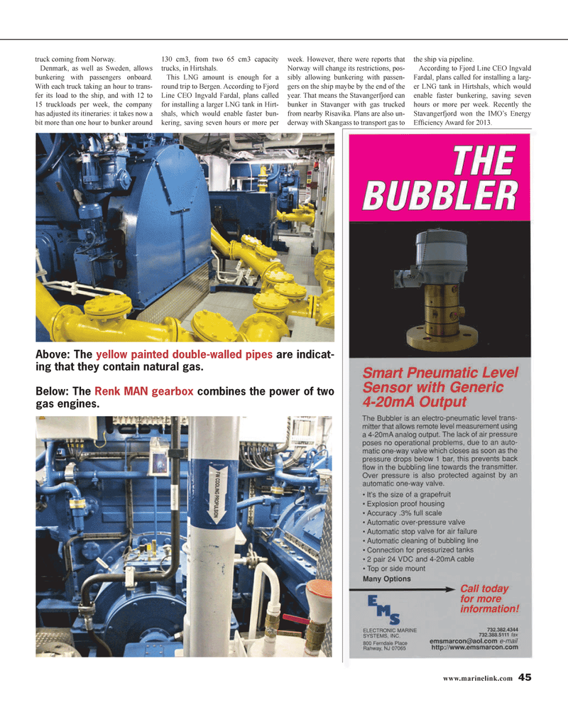 Maritime Reporter Magazine, page 45,  Jan 2014 natural gas