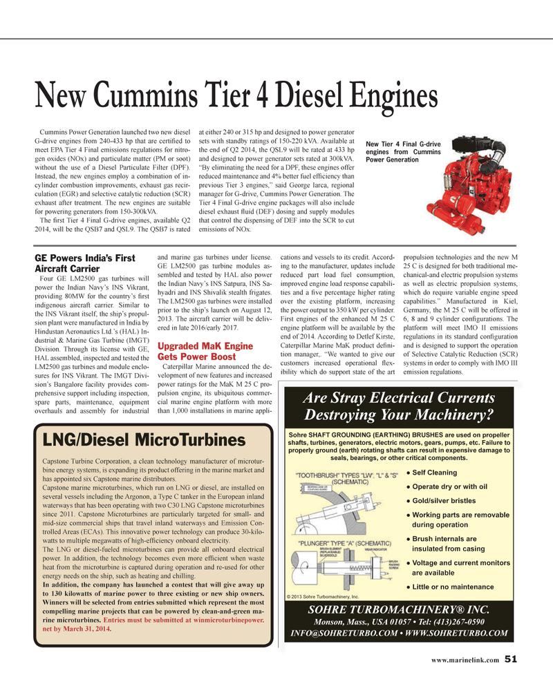 Maritime Reporter Magazine, page 51,  Jan 2014 Accord