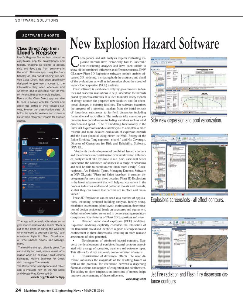Maritime Reporter Magazine, page 24,  Mar 2014 flash
