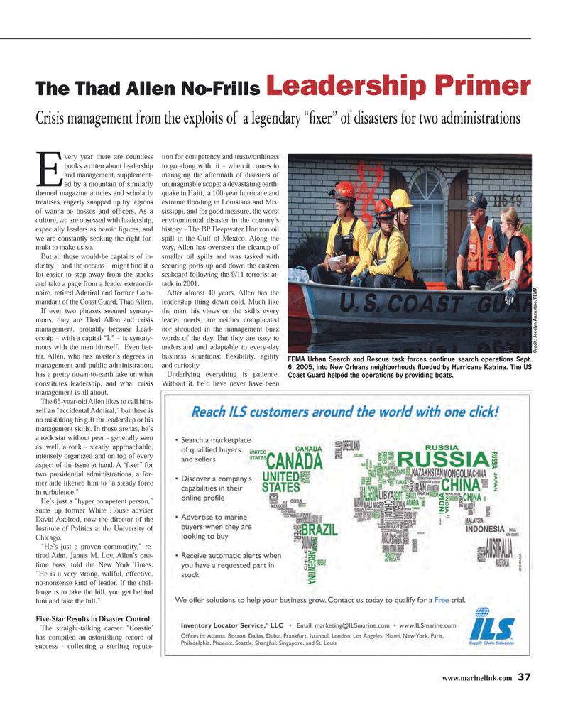 Maritime Reporter Magazine, page 37,  Mar 2014 Louisiana
