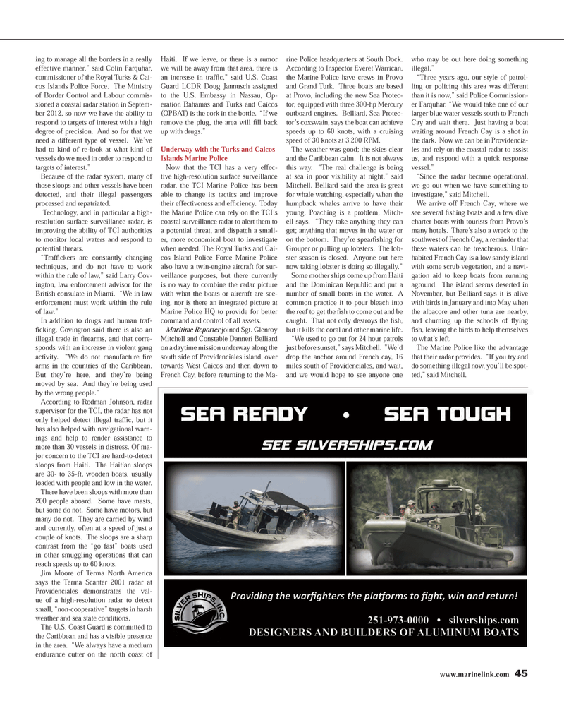 Maritime Reporter Magazine, page 45,  Mar 2014 Doug Jannusch