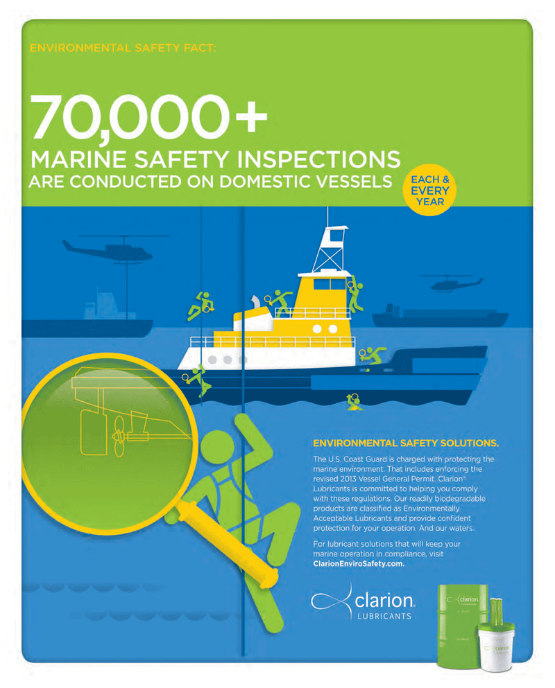 Maritime Reporter Magazine, page 9,  May 2014