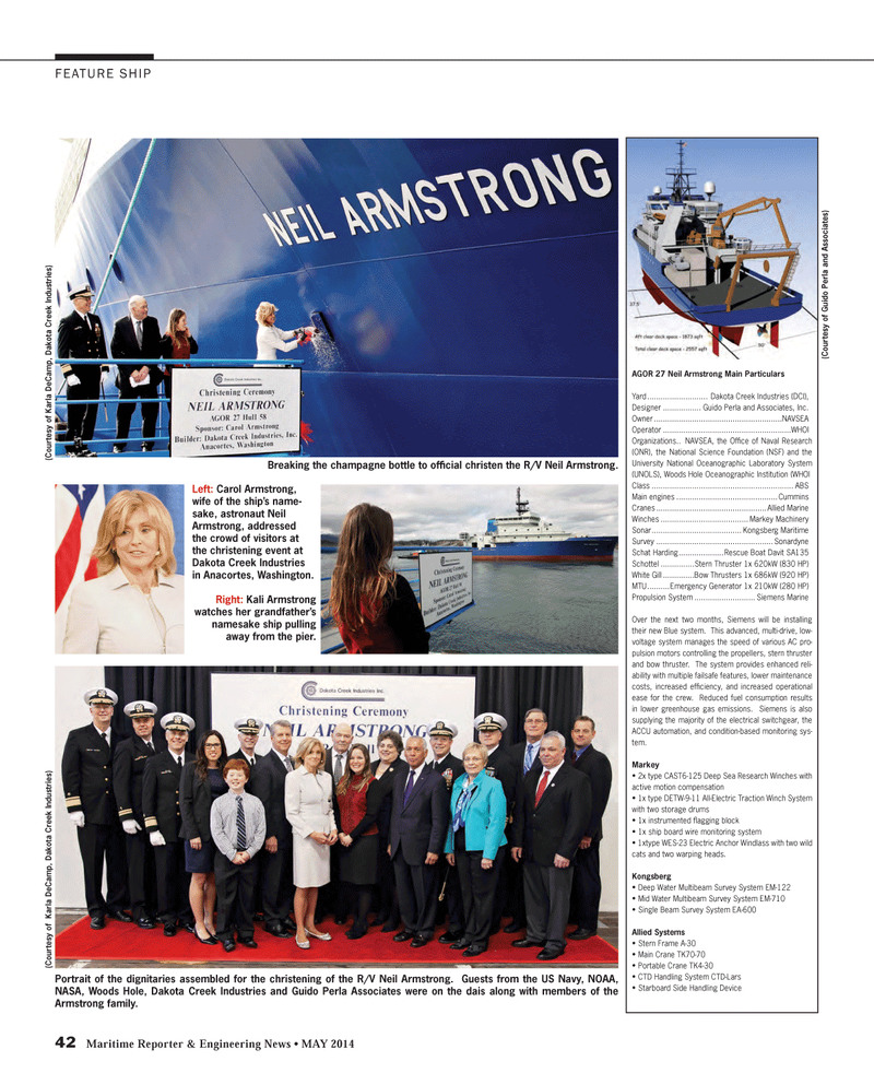 Maritime Reporter Magazine, page 42,  May 2014 Blue