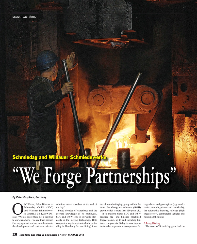 Maritime Reporter Magazine, page 26,  Mar 2015