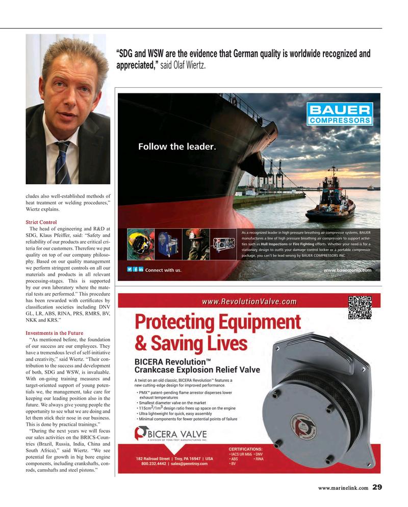 Maritime Reporter Magazine, page 29,  Mar 2015