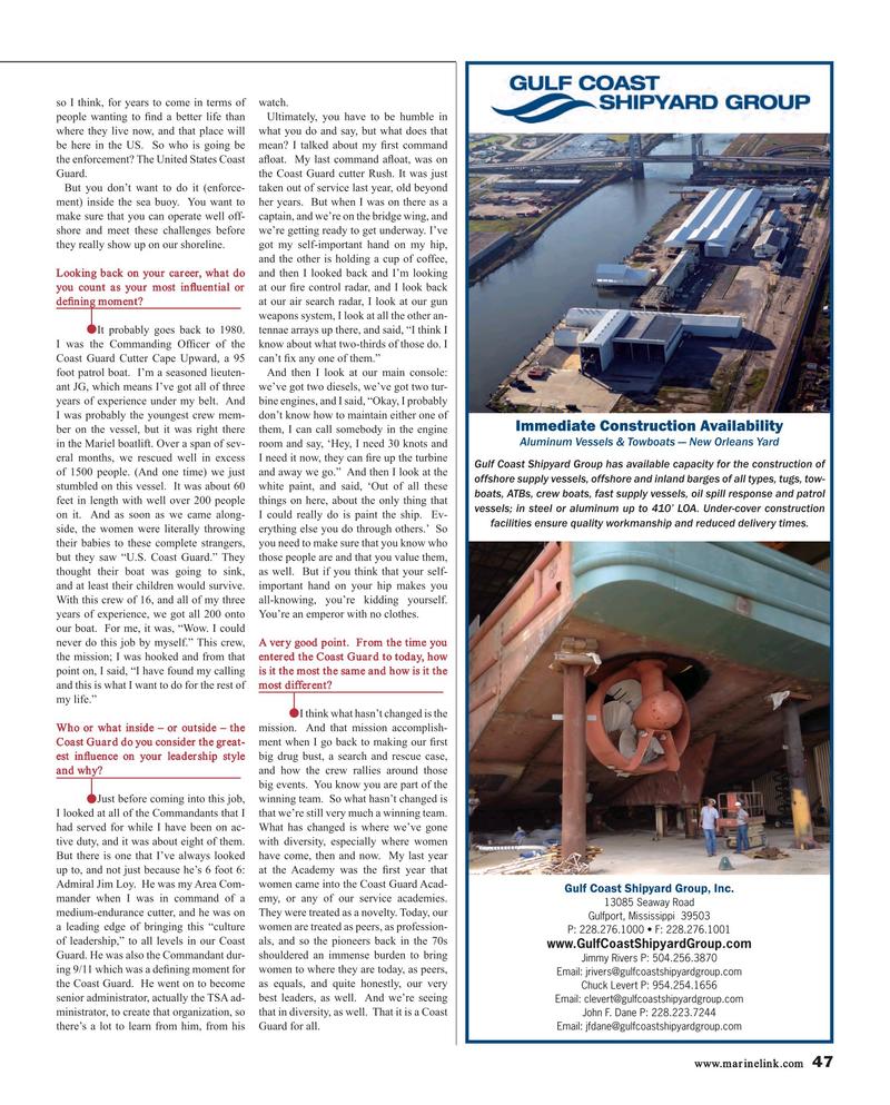 Maritime Reporter Magazine, page 47,  Mar 2015