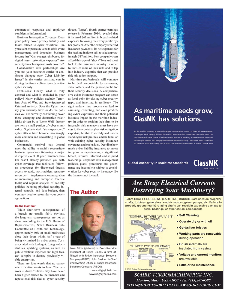 Maritime Reporter Magazine, page 67,  Mar 2015