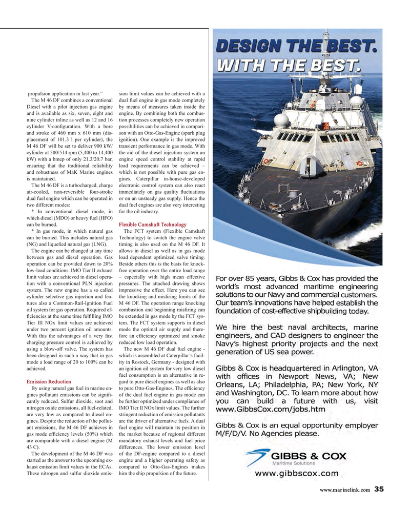 Maritime Reporter Magazine, page 35,  May 2015