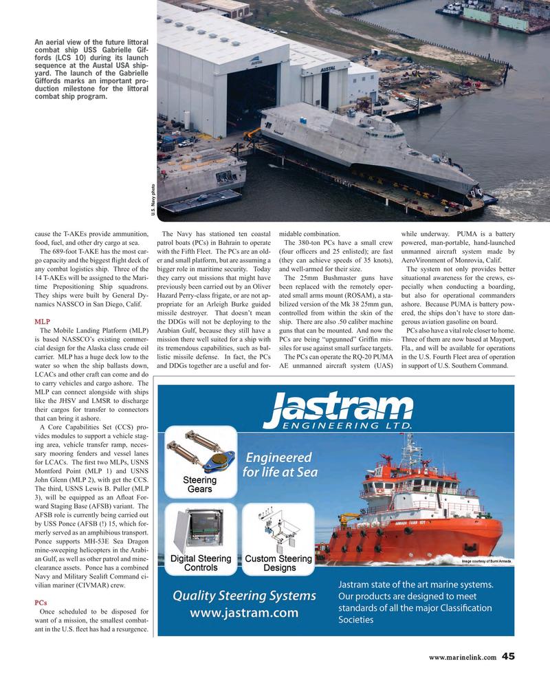 Maritime Reporter Magazine, page 45,  Jun 2015