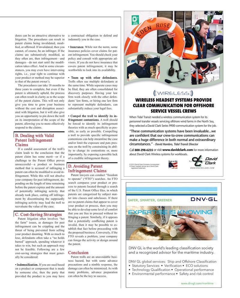Maritime Reporter Magazine, page 17,  Jul 2015