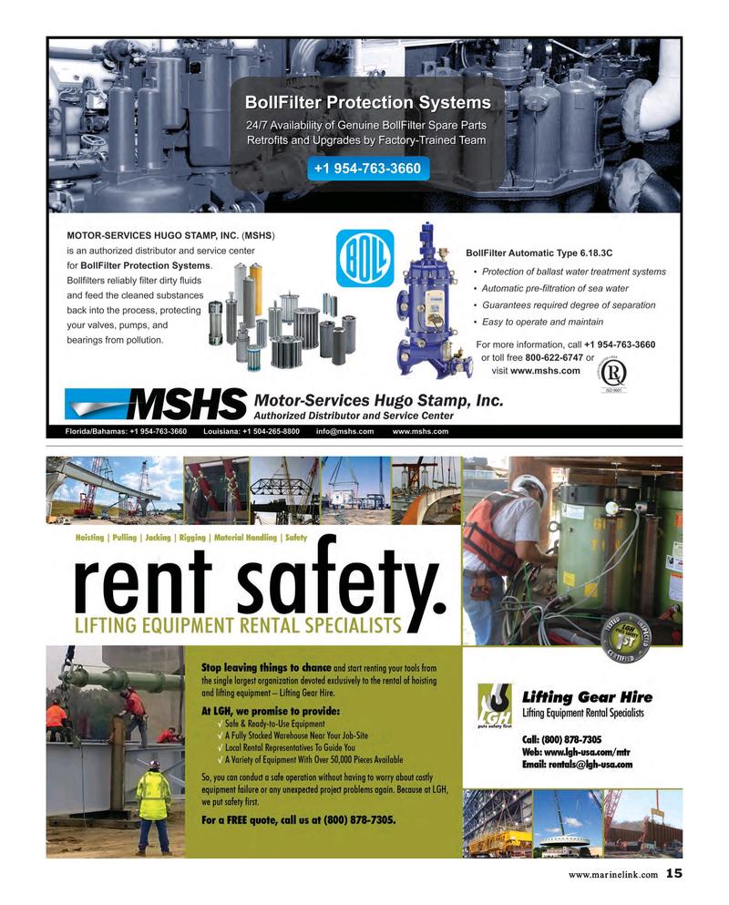 Maritime Reporter Magazine, page 15,  Aug 2015