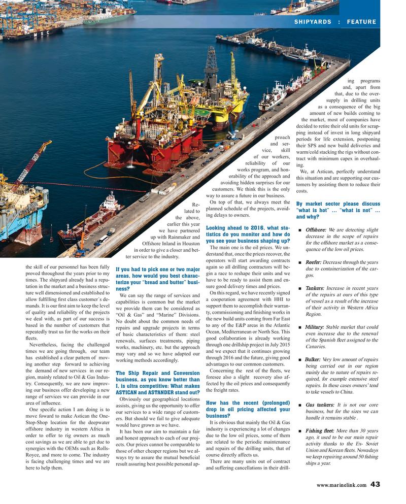 Maritime Reporter Magazine, page 43,  Aug 2015