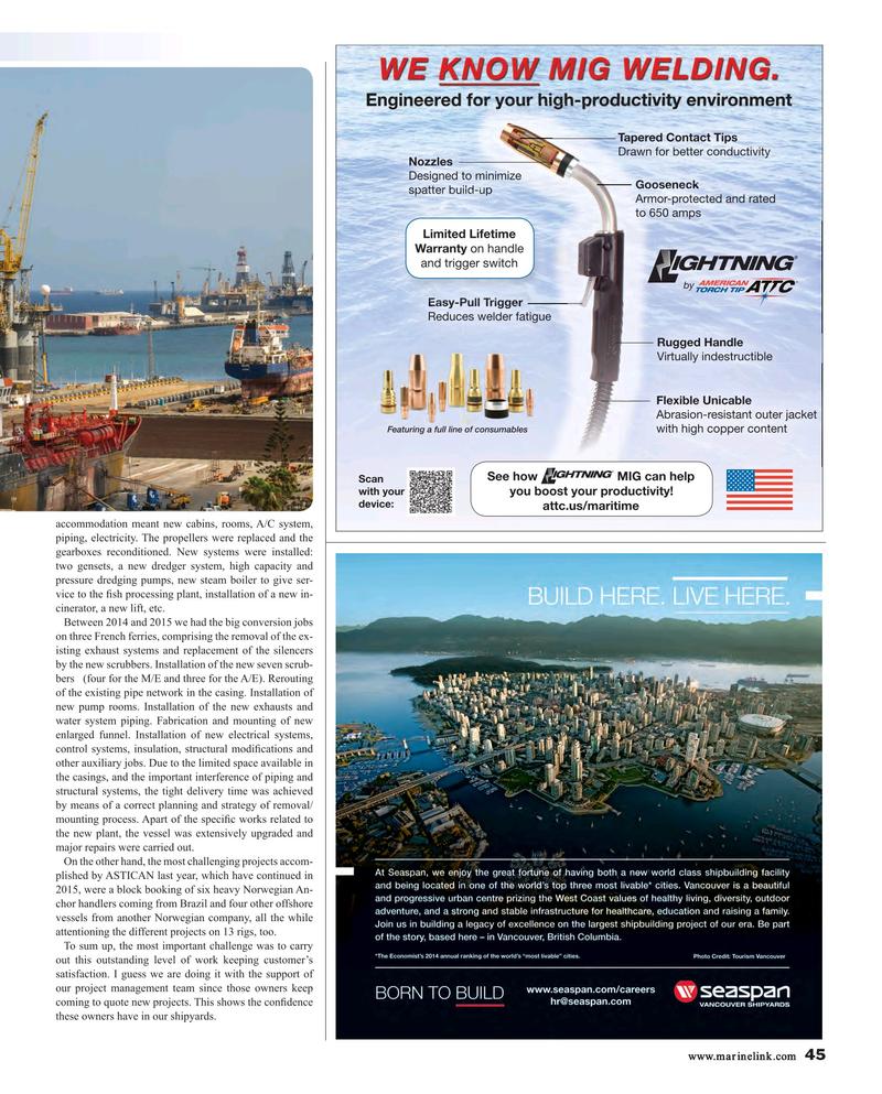 Maritime Reporter Magazine, page 45,  Aug 2015