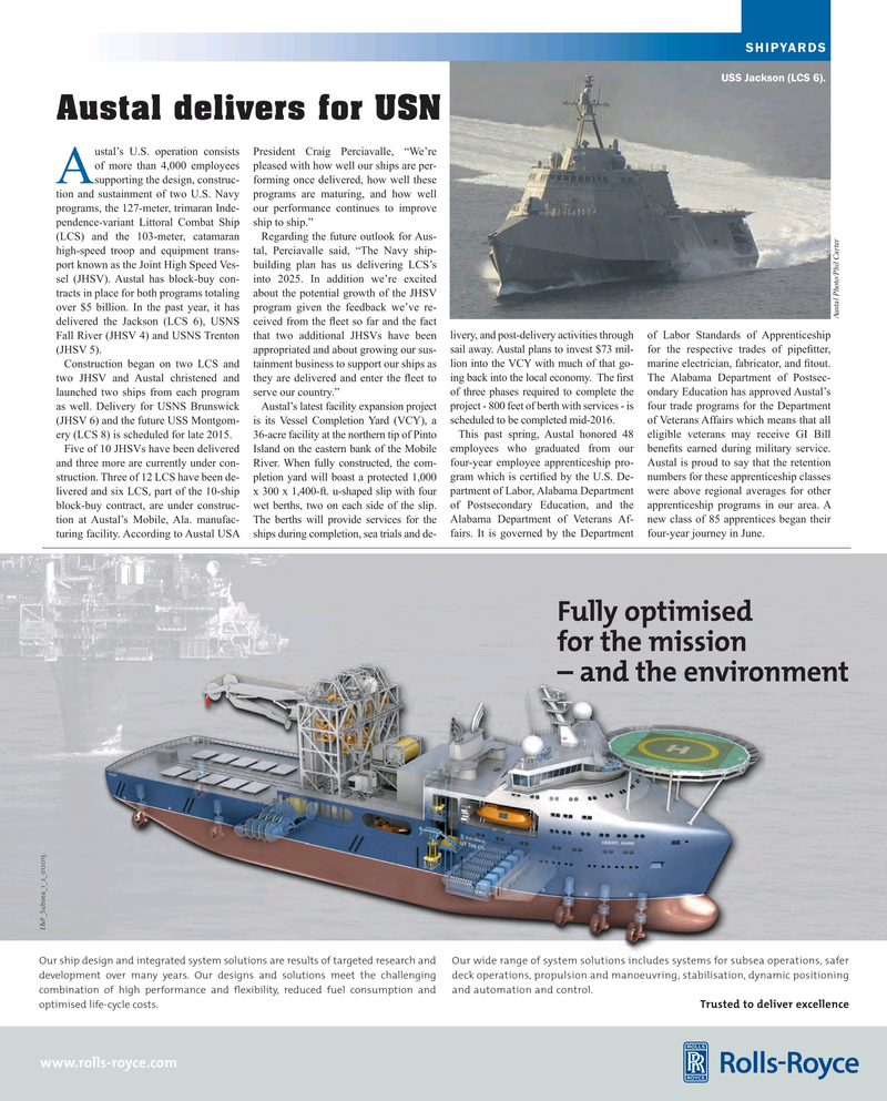 Maritime Reporter Magazine, page 53,  Aug 2015