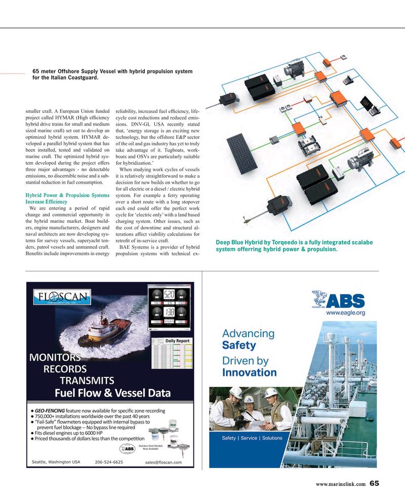 Maritime Reporter Magazine, page 65,  Aug 2015