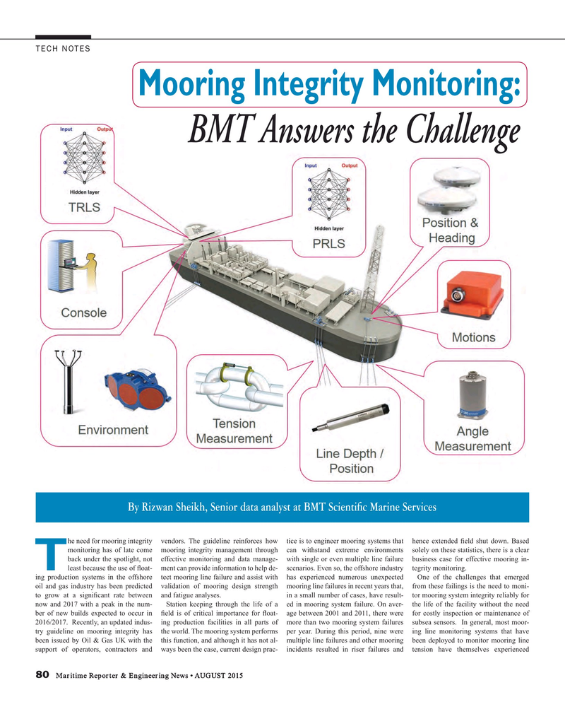Maritime Reporter Magazine, page 80,  Aug 2015