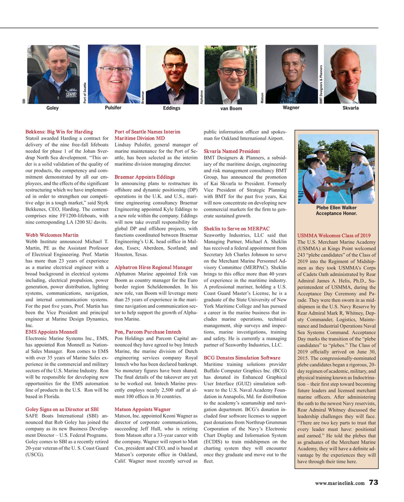 Maritime Reporter Magazine, page 73,  Sep 2015