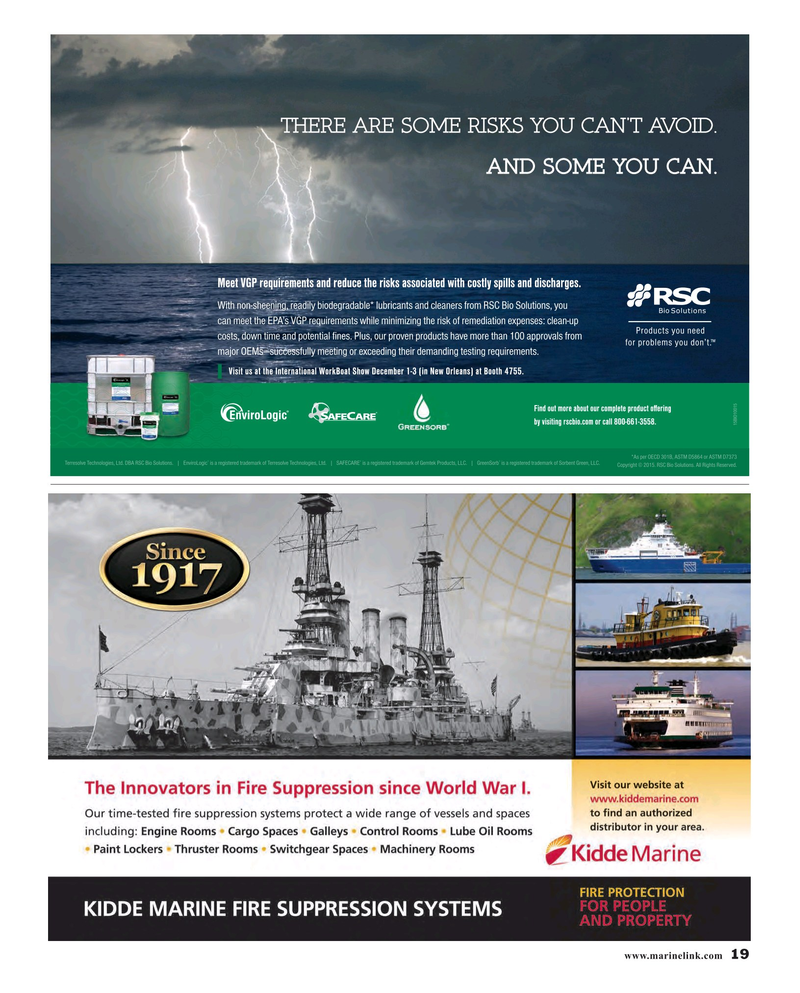 Maritime Reporter Magazine, page 19,  Oct 2015