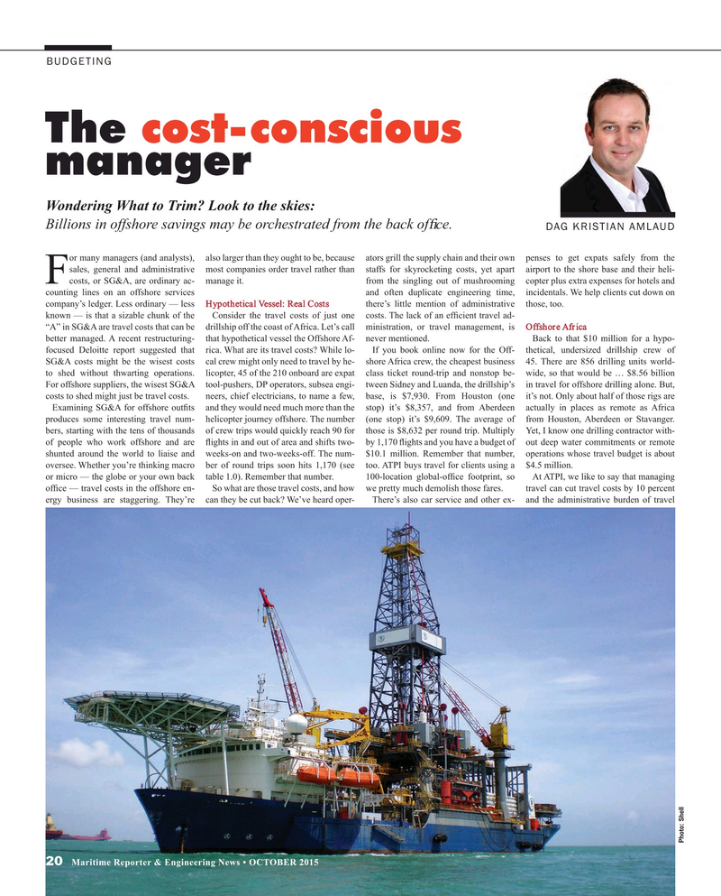 Maritime Reporter Magazine, page 20,  Oct 2015