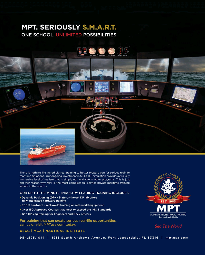 Maritime Reporter Magazine, page 29,  Oct 2015
