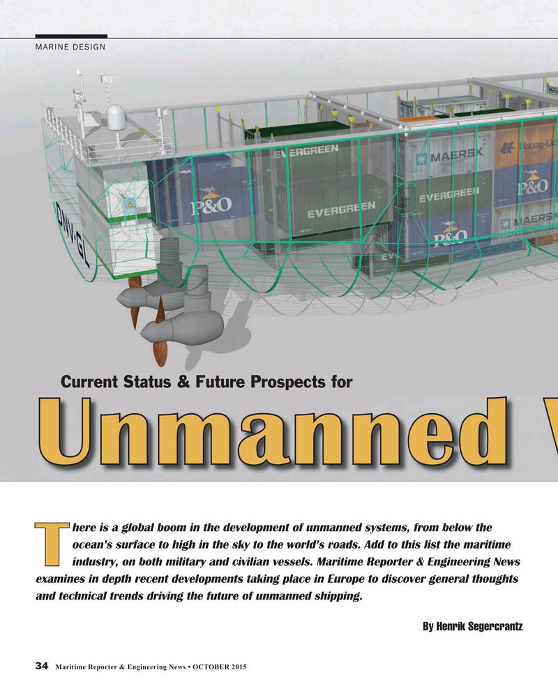 Maritime Reporter Magazine, page 34,  Oct 2015