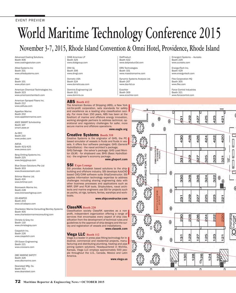 Maritime Reporter Magazine, page 72,  Oct 2015