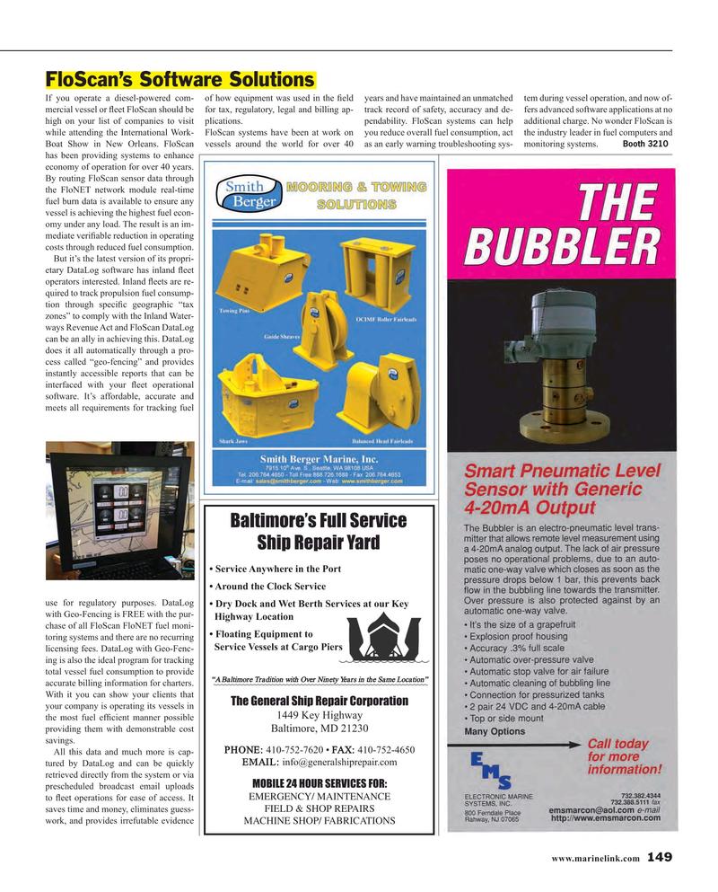 Maritime Reporter Magazine, page 149,  Nov 2015