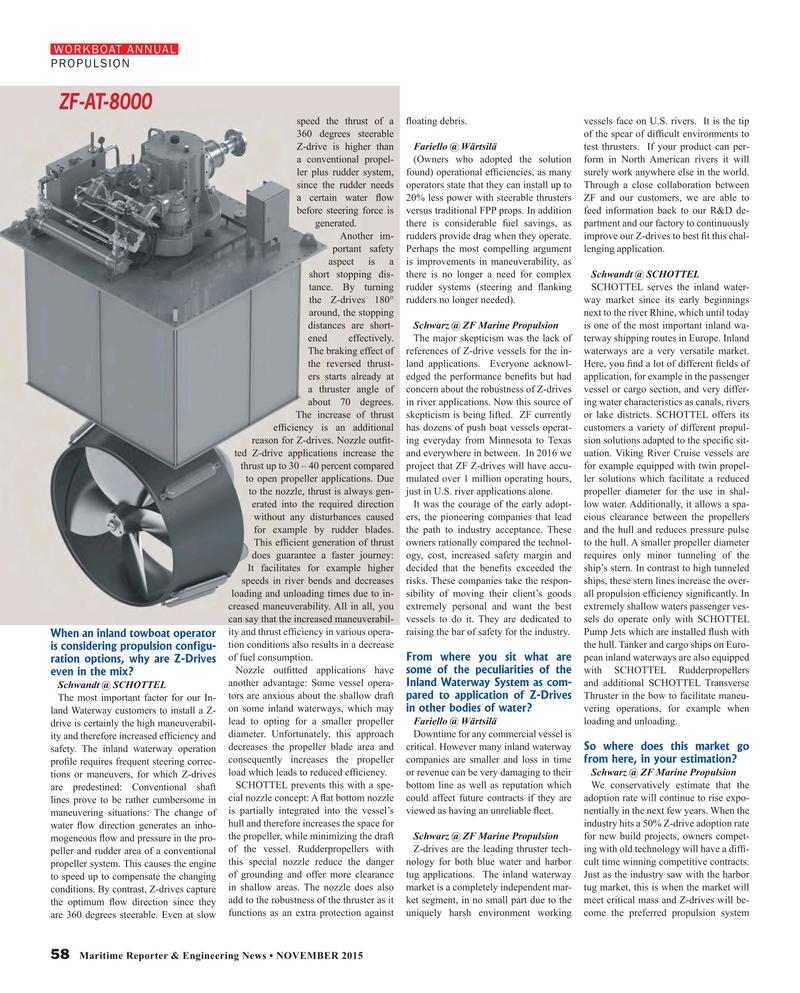 Maritime Reporter Magazine, page 58,  Nov 2015
