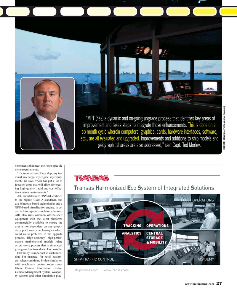 Maritime Reporter Magazine, page 27,  Mar 2016