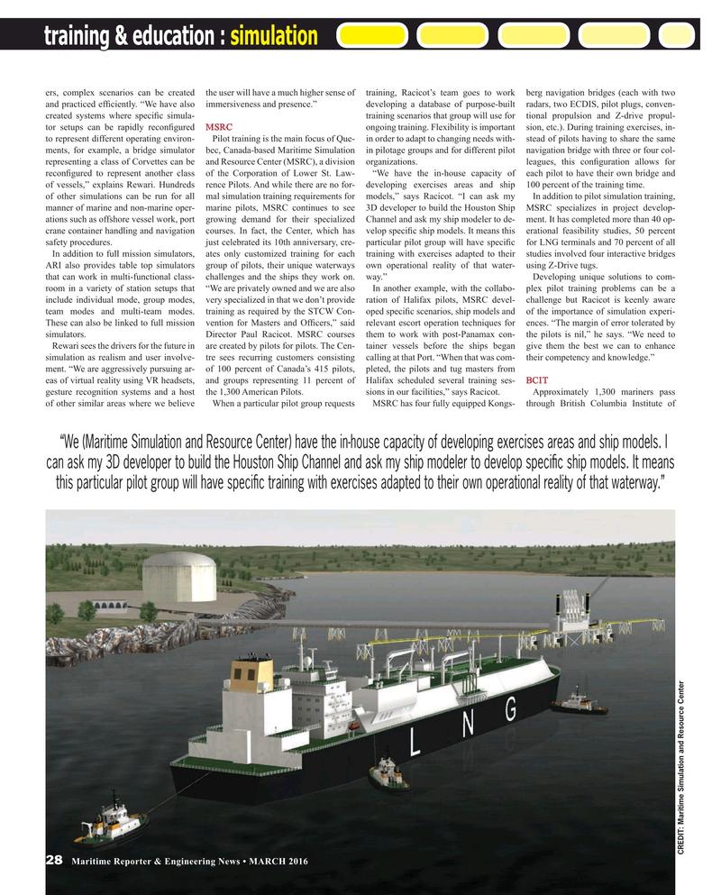 Maritime Reporter Magazine, page 28,  Mar 2016