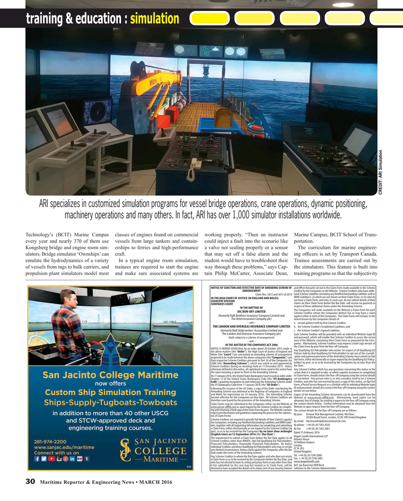 Maritime Reporter Magazine, page 30,  Mar 2016